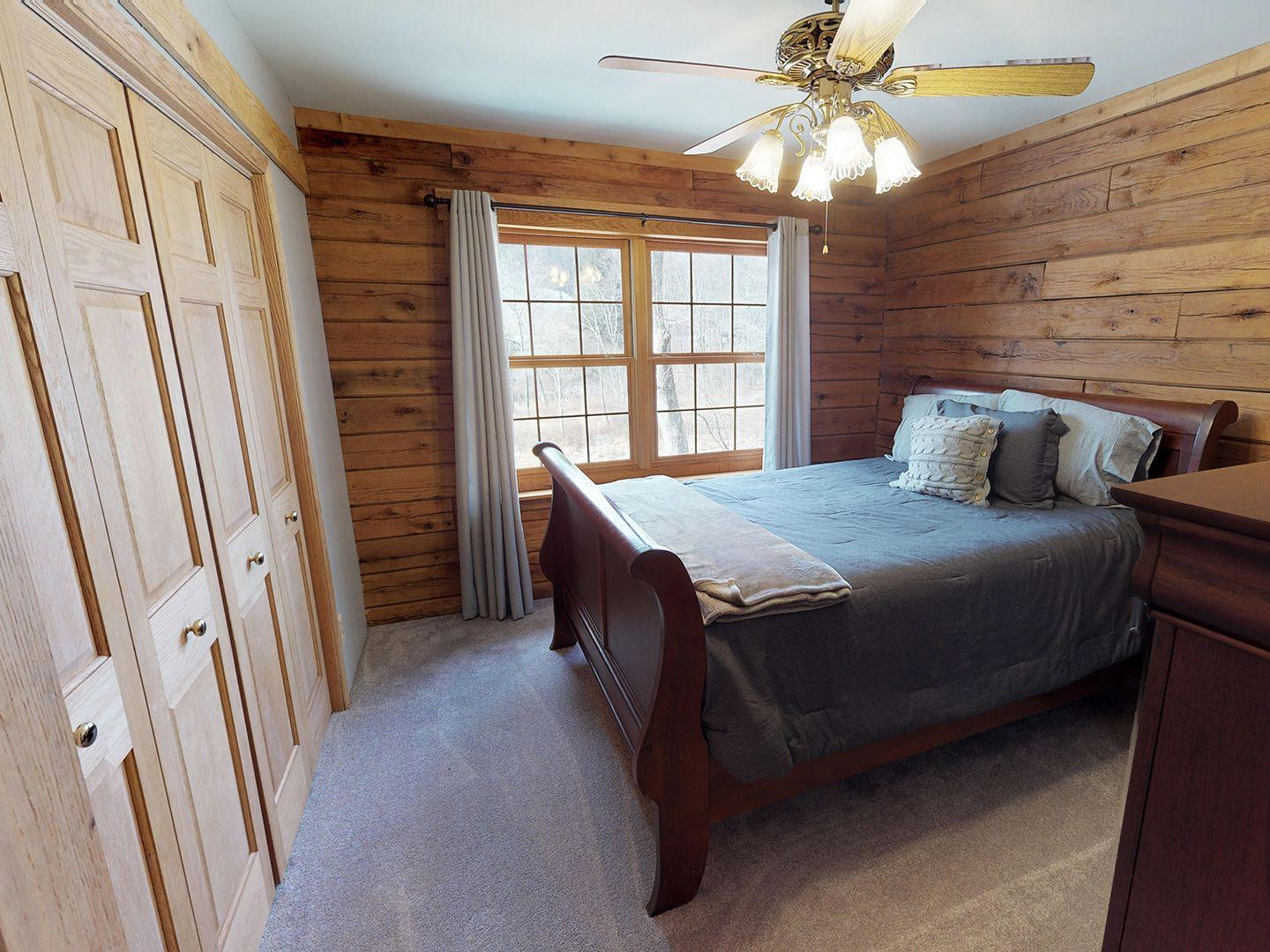 Hocking Hills Yurts and Cabins Bedroom 2